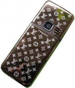 "Корпус Nokia 6300 (brown, ""LV"")"