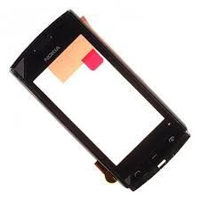 Тачскрин Nokia 500 (в раме) (black)