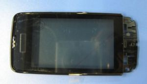 Тачскрин Nokia 311 Asha (black) (в раме)