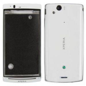 Корпус Sony Ericsson X12 Xperia arc (white) Оригинал