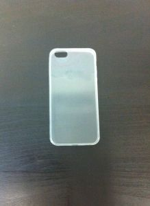 Накладка Apple iPhone 5/5S Силикон (white)
