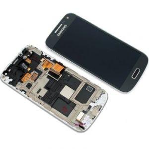 LCD (Дисплей) Samsung i9190 Galaxy S4 mini/i9192 Galaxy S4 mini Duos/i9195 Galaxy S4 mini (в сборе с тачскрином) (в раме) (black) Оригинал
