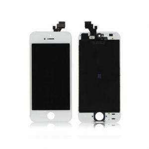 LCD (Дисплей) iPhone 5 (в сборе с тачскрином) (white) Оригинал