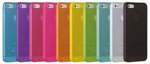 Накладка Apple iPhone 5/5S Ультратонкая (orenge)