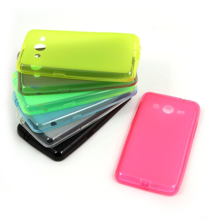 Накладка Samsung G355H Galaxy Core 2 Силикон (pink)