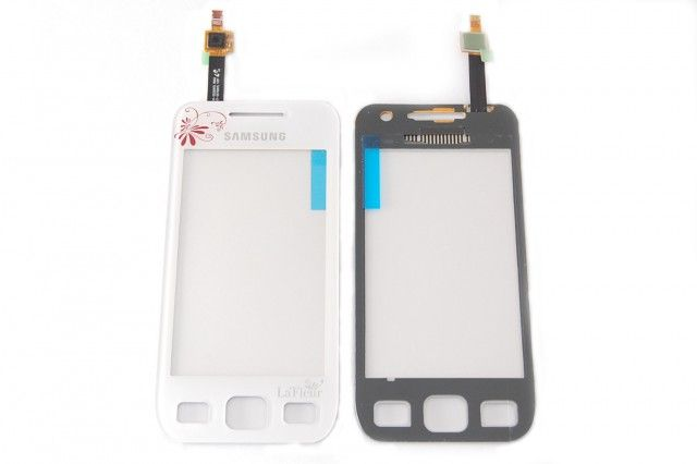 "Тачскрин Samsung S5250/S5750 (white, ""La Fleur"") Оригинал"