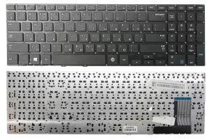 Клавиатура для ноутбука Samsung NP370/NP450/NP470/NP510 (без рамки) (black)