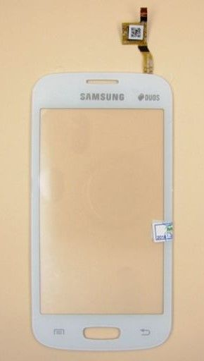 Тачскрин Samsung S7260 Galaxy Star Pro/S7262 Galaxy Star Plus (white) Оригинал