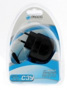 Сетевое зарядное устройство Deppa Nokia E-серия/N-серия/1200/1650/5700/6080/6101/6110/6125/6300/7360