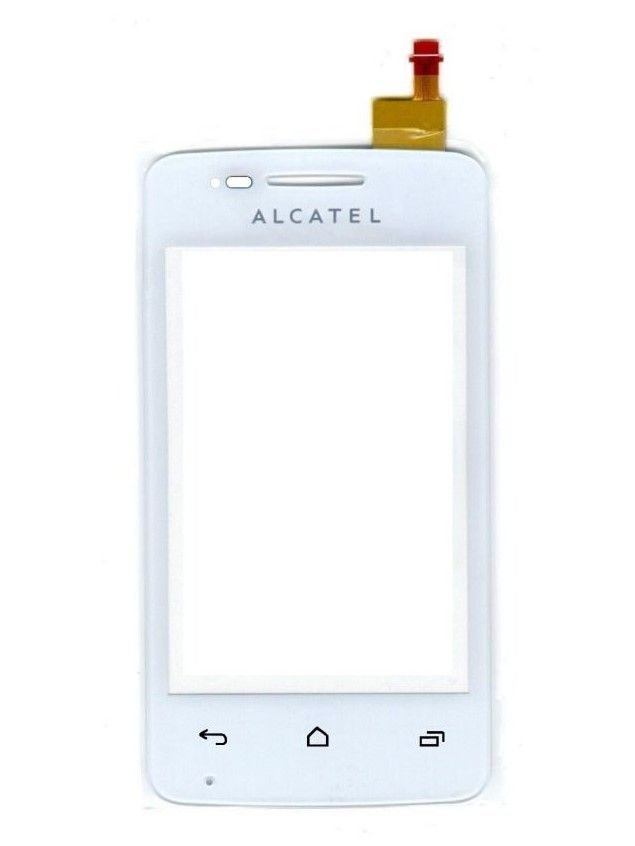 Тачскрин Alcatel 4030D OneTouch S'Pop/ МТС 975 (white) Оригинал