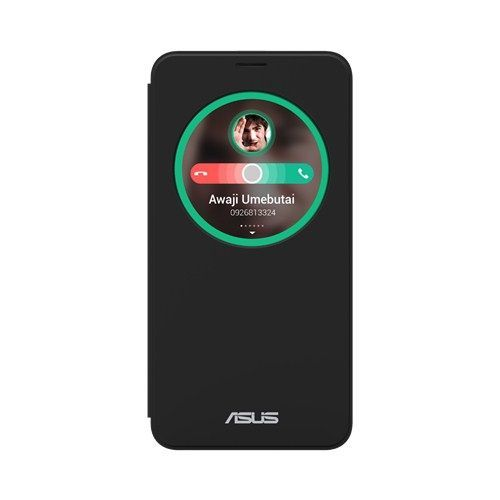 Чехол-книжка (View Flip Cover) Asus ZC500TG ZenFone Go (black) Оригинал