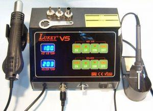 Паяльная станция Lukey V5 (термовоздушная)