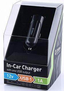 Автомобильное зарядное устройство Zetton USB (1 A) (black-blue)