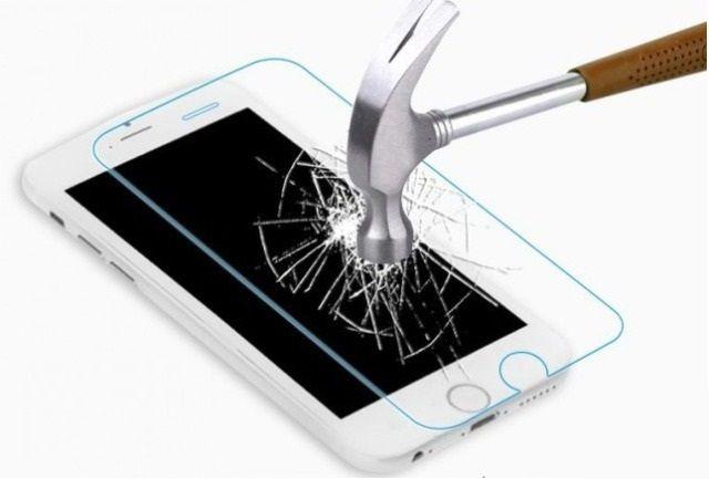 Защитное стекло Apple iPhone 6/6S (бронестекло, 3D white)