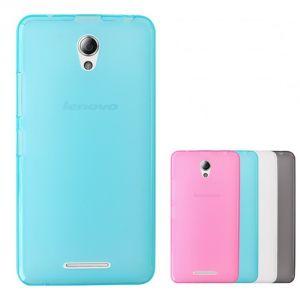 Накладка Lenovo  A5000 силикон (blue)