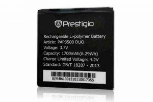 Аккумулятор Prestigio MultiPhone РАР3500 DUO Оригинал