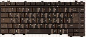 Клавиатура для ноутбука Toshiba A300/A305/L300/L450/M300/M305/M500/M505 (black)