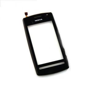 Тачскрин Nokia 600 (в раме и speaker) (black)
