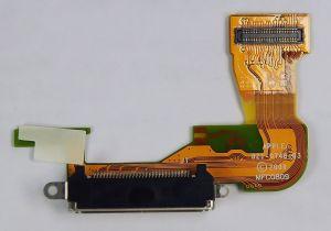 FLC (Шлейф) Apple iPhone 3GS с системным разъёмом (821-0748-A) (black) Оригинал