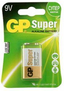 Батарейка GP Super Alcoline 1604A 9 V (522/6LF22/Крона)