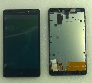 LCD (Дисплей) Nokia XL (в сборе с тачскрином) (в раме) Оригинал