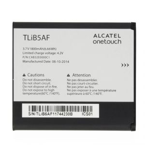 Аккумулятор Alcatel 997 One Touch/5035D One Touch X`Pop/5036D Pop C5/ МТС 975 (CAB32E0000C1/TLiB5AF) Оригинал