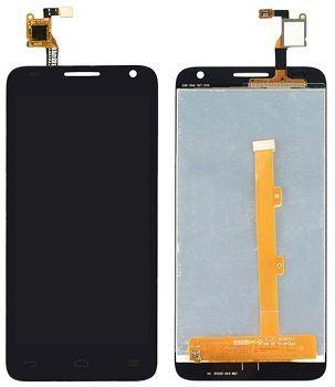 LCD (Дисплей) Alcatel 6036Y OneTouch Idol 2 Mini S (в сборе с тачскрином) (black) Оригинал