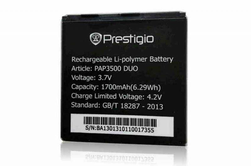 Аккумулятор Prestigio MultiPhone PAP3500 DUO Оригинал