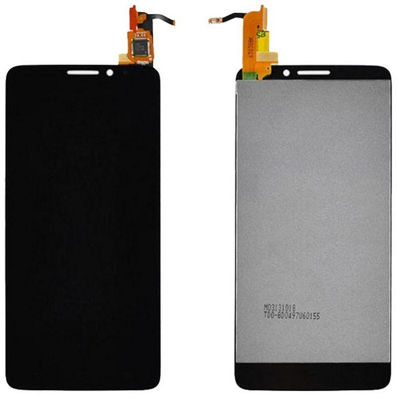 LCD (Дисплей) Alcatel 6040X OneTouch Idol X (в сборе с тачскрином) (black) Оригинал