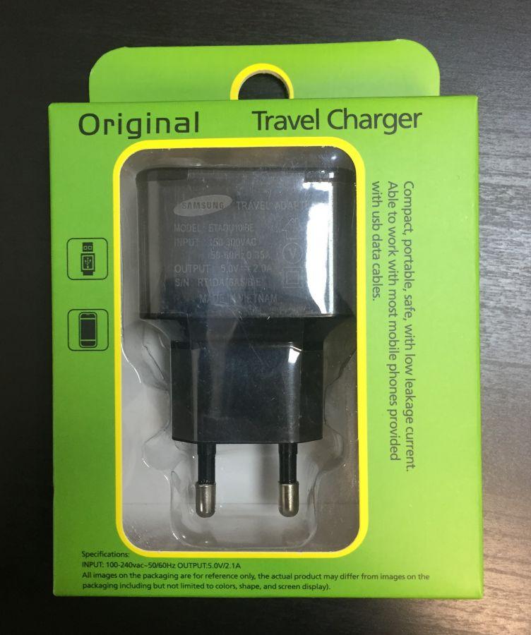 Сетевое зарядное устройство USB (2 A) (black)