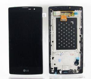 LCD (Дисплей) LG H502 Magna (в сборе с тачскрином) (в раме) (black) Оригинал