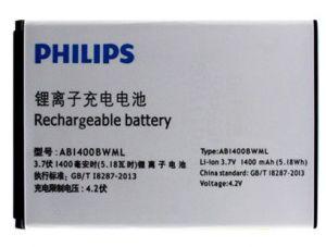 Аккумулятор Philips S308/ Билайн Смарт 3 (AB1400BWML) Оригинал