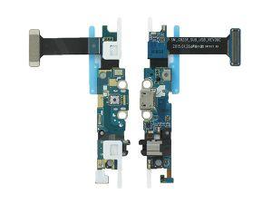 FLC (Шлейф) Samsung G925F Galaxy S6 Edge (на системный разъём, разъём гарнитуры, кнопку Home и микрофон) Оригинал